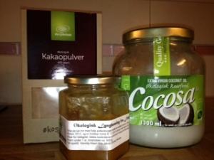 Ingredienser sjokoladepålegg