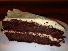 saftig sjokoladekake med rødbeter
