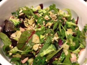 dagens lunsj salat