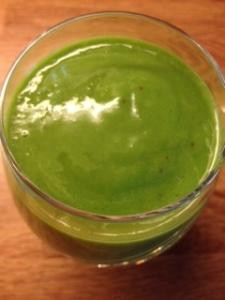 Grønn styrkedrikk