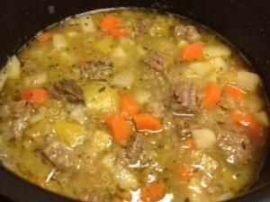 Kjøttsuppe med quinoa